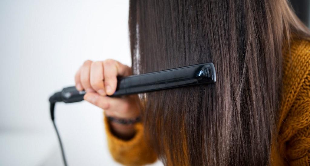hair straightener even in summer