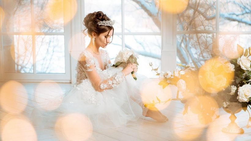 Avoid these wedding dress styles for short brides