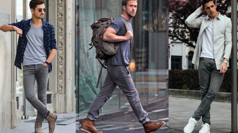 What to wear with Grey Jeans?