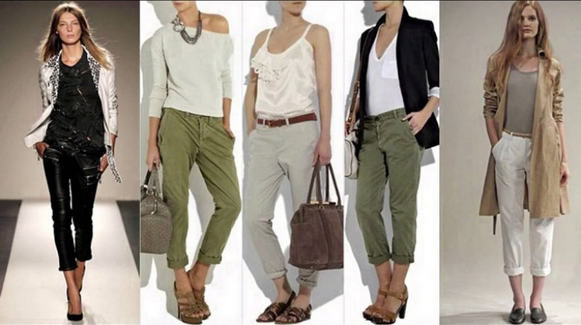 What to wear with ankle pants?